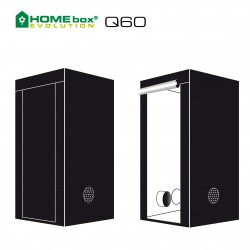 HOMEbox® Evolution Q60 60x60x120cm 0,36m²