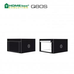 HOMEbox® Evolution Q80S 80x80x50cm 0,64m²
