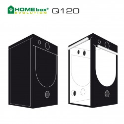 HOMEbox® Evolution Q120 120x120x200cm 1,44m²