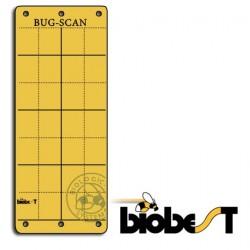 Panneaux Gluants x10 Biobest Bug-Scan Jaunes10x25cm