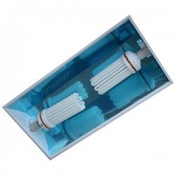 Réflecteur Envirolite Double avec câble-Réflecteurs lampes ECO- growstore.fr