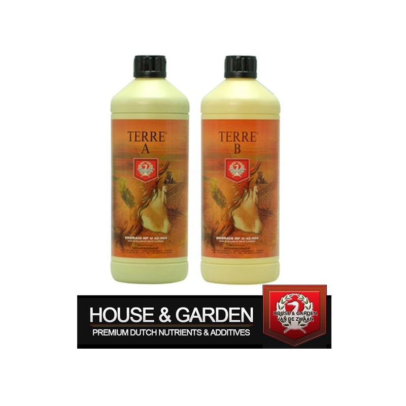 House & Garden Terre A+B 1L-A+B- growstore.fr
