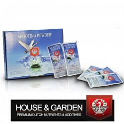 House & Garden Shooting Powder 65gr boite de 5 sachets-Booster de floraison- growstore.fr