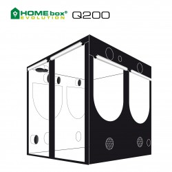 HOMEbox® Evolution Q200 200x200x200cm 4m²