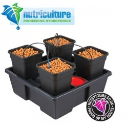 Wilma Small 4 pots 6 Litres Nutriculture