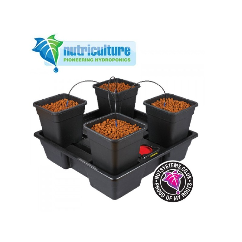 Wilma Large 4 pots 11 Litres Nutriculture-Systèmes Hydroponiques- growstore.fr