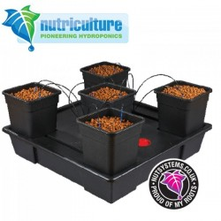 Wilma XXLarge 5 pots 25 Litres Nutriculture-Systèmes Hydroponiques- growstore.fr