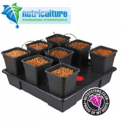 Wilma XXLarge 8 pots 18 Litres Nutriculture-Systèmes Hydroponiques- growstore.fr