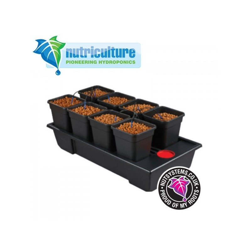 Wilma XLarge 8 pots 11 Litres Nutriculture-Systèmes Hydroponiques- growstore.fr