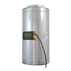 Extracteur d'air silencieux Q-Max AC 200mm 3 vitesses - CAN-FAN-Extracteurs insonorisés- growstore.fr