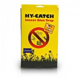Panneaux Gluants x10 Hy-Catch INSECT GLUE TRAP Jaunes 15x25cm-Accessoires culture- growstore.fr