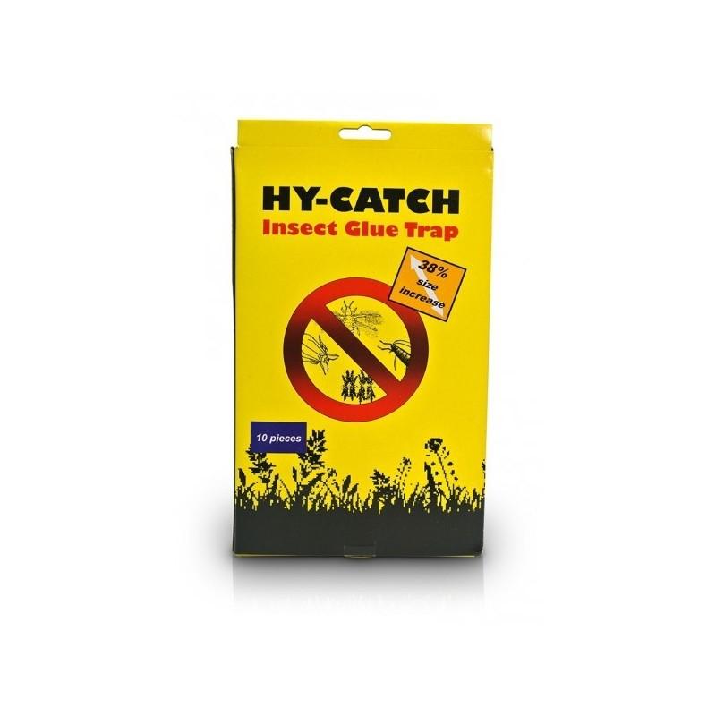 Panneaux Gluants x1 Hy-Catch INSECT GLUE TRAP Jaunes15x25cm-Accessoires culture- growstore.fr
