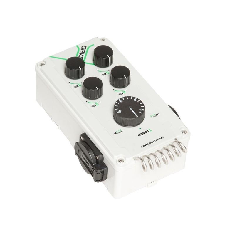 contrôleur de ventilation avec thermostat Davin DV-11TII-Contrôleurs & Variateurs- growstore.fr