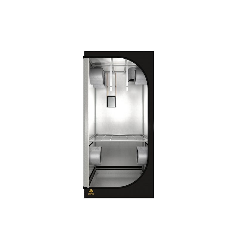 DR90 R3.00 - Dark Room 90x90x185 cm - Secret Jardin-DarkRoom- growstore.fr