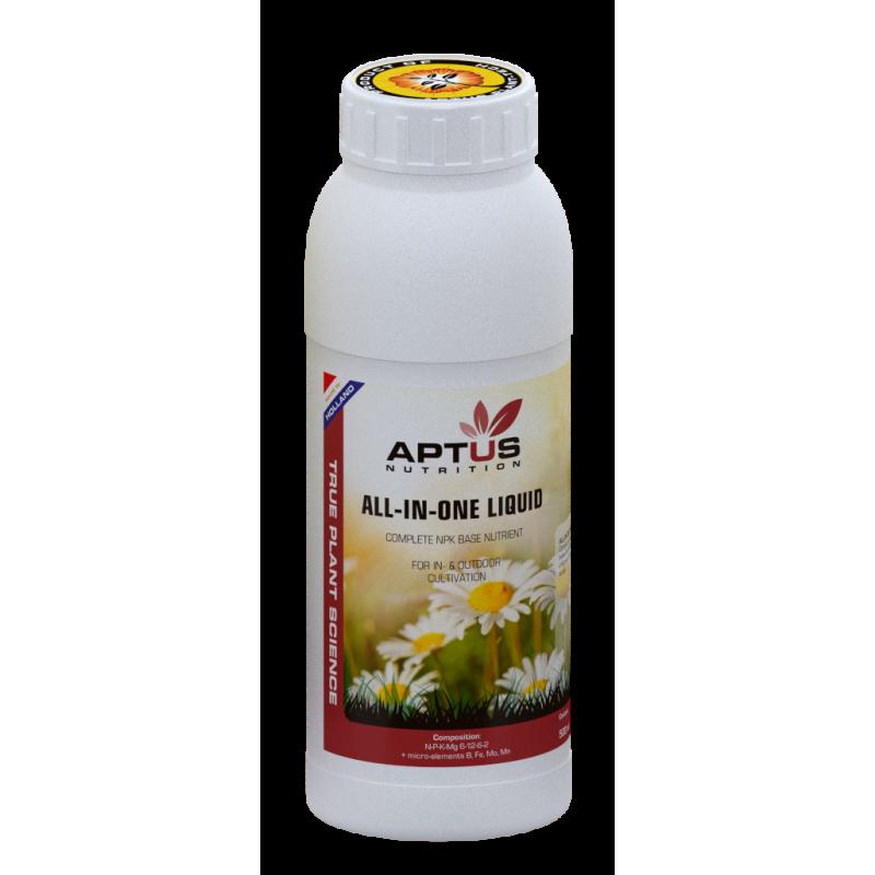 Aptus  ALL-IN-ONE LIQUID 5L-Engrais tout en 1- growstore.fr