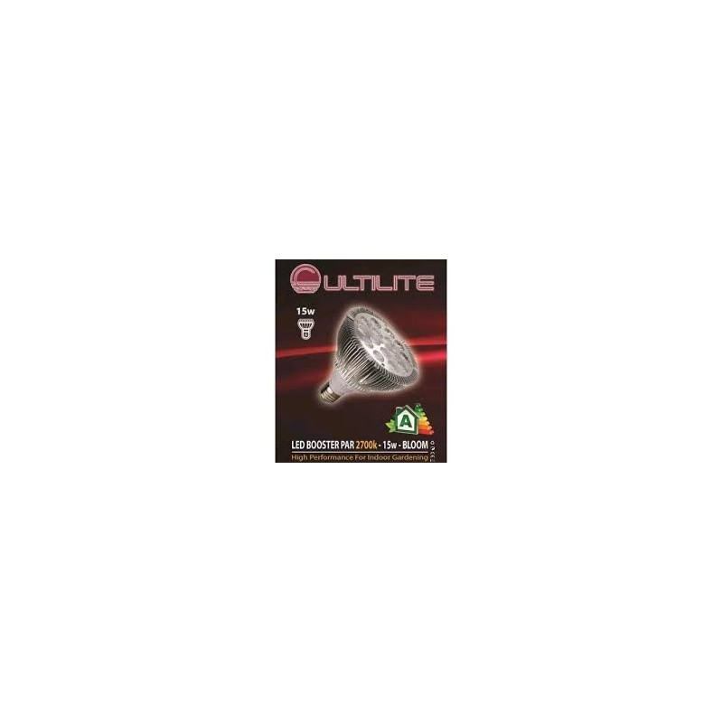 CULTILITE - LED BOOSTER 15W-BLOOM-2700K-Eclairage L.E.D.- growstore.fr