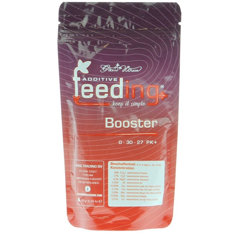 green house feeding booster 125g-P,K,Ca,Mg...- growstore.fr