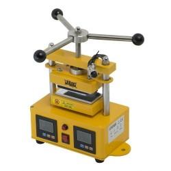 Presse Rosin manuelle ajustable 1 tonne avec plaques 6x12cm pour extraction de résine