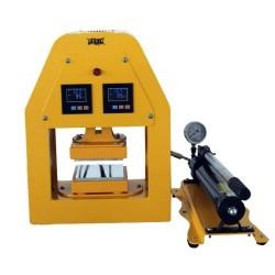 Presse Rosin hydraulique 20 tonnes avec plaques 12x12cm pour extraction de résine