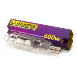 Ampoule MH 600W 240V 6000K LUMATEK-Ampoules MH- growstore.fr
