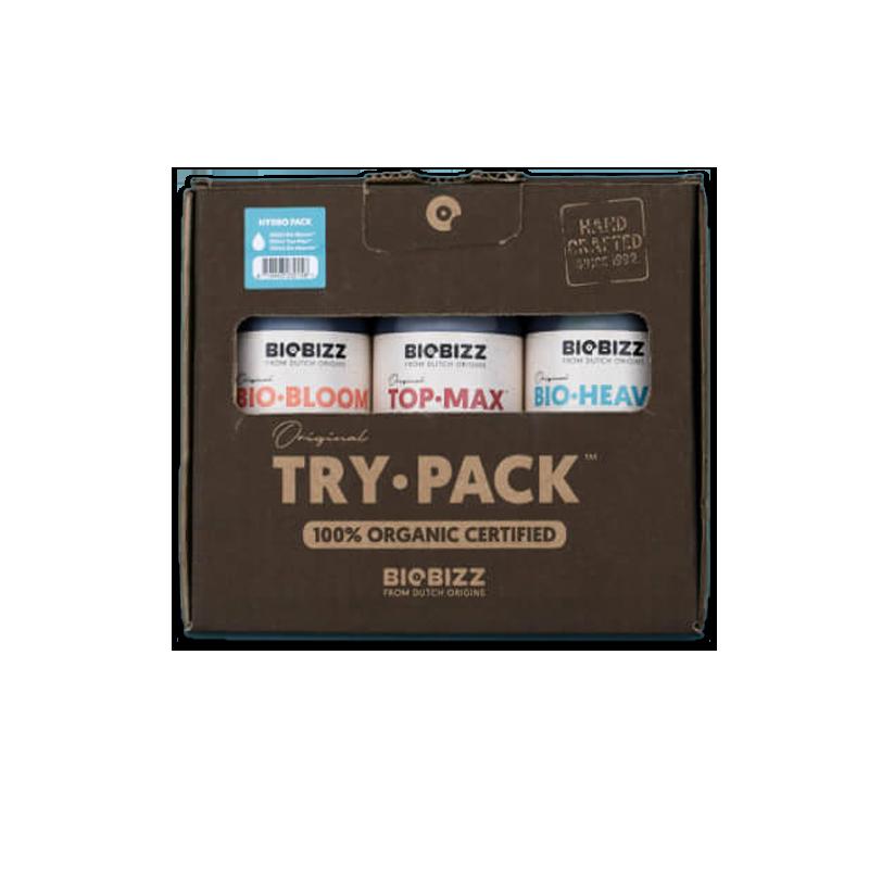 Try-Pack Hydro BIOBIZZ-Kits Engrais Pratiques- growstore.fr