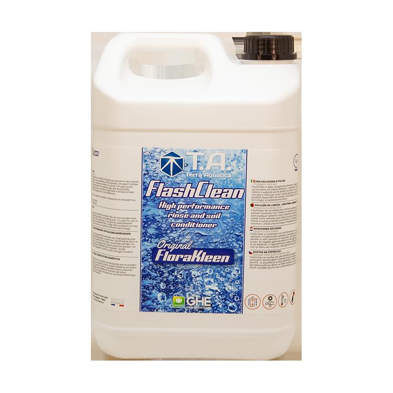 Flashclean® (Florakleen®) - TERRA AQUATICA (GHE) - 5L-Nettoyage de système- growstore.fr