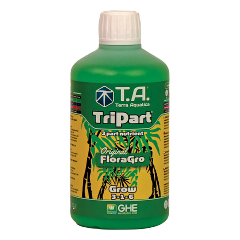 TriPart Grow® (Flora Series®) - TERRA AQUATICA (GHE) - 500ml-Tripart- growstore.fr