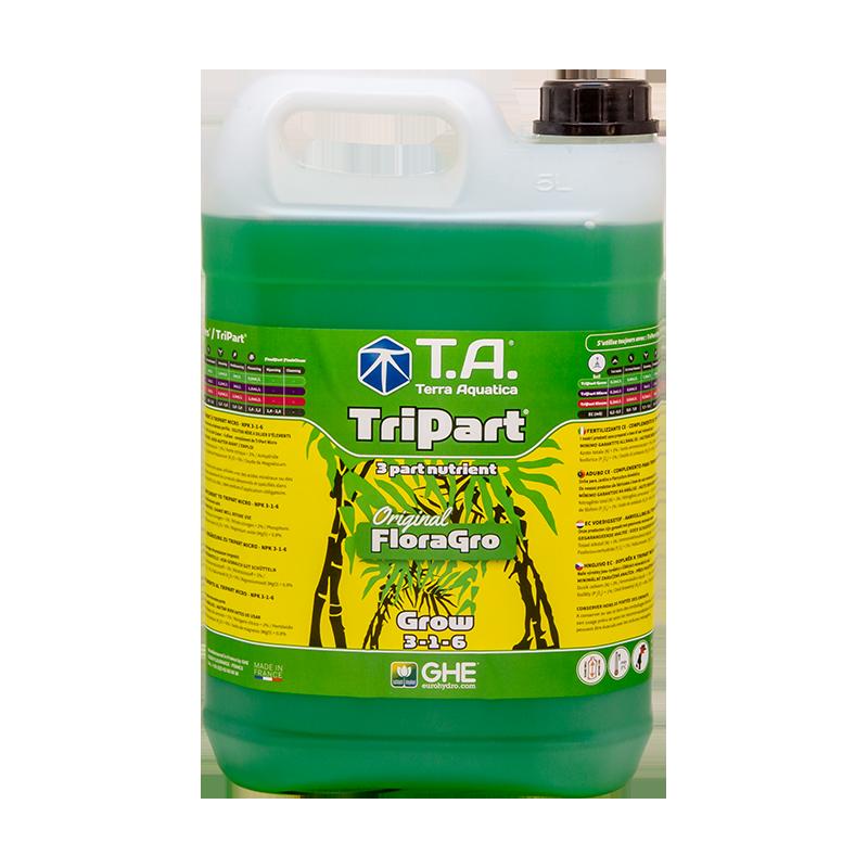 TriPart Grow® (Flora Series®) - TERRA AQUATICA (GHE) - 5L-Tripart- growstore.fr