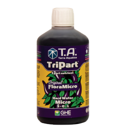 TriPart Micro (Flora Series®) - TERRA AQUATICA (GHE) - 500ml - Hard Water