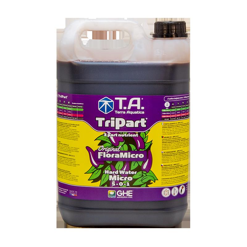 TriPart Micro (Flora Series®) - TERRA AQUATICA (GHE) - 5L-Tripart- growstore.fr