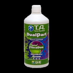 DualPart® (FloraDuo®) Grow - TERRA AQUATICA (GHE) - 1L - Hard Water - Eau Dure