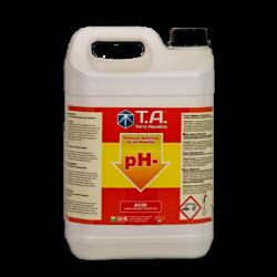 pH Regulator / Down pH- / TERRA AQUATICA (GHE) - 5L