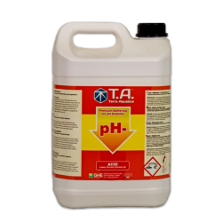 pH Regulator / Down pH- / TERRA AQUATICA - 5L-pH Down -- growstore.fr