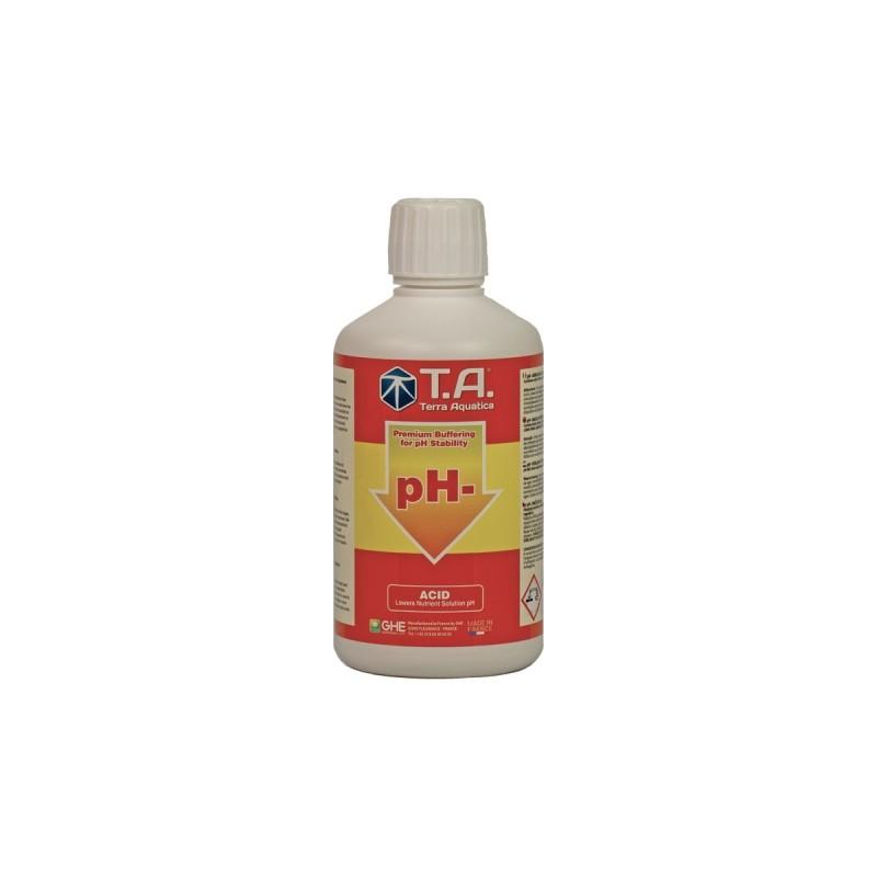 pH Regulator / Down pH- / TERRA AQUATICA - 500ml-pH Down -- growstore.fr