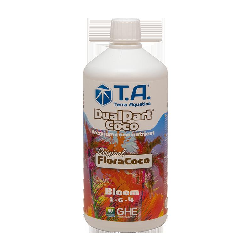 DualPart Coco® (FloraCoco®) Bloom - TERRA AQUATICA (GHE) - 1L-Spécifiques Coco- growstore.fr