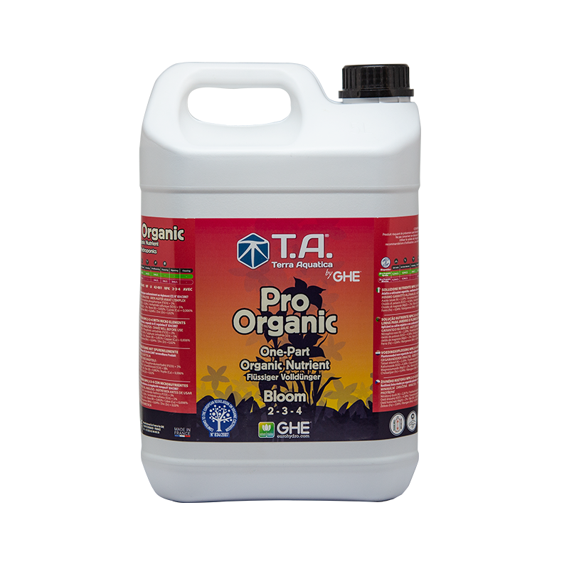 Pro Organic (BioThrive) -  Bloom - TERRA AQUATICA (GHE) - 5L-T.A. (Terra Aquatica) (GHE) - growstore.fr