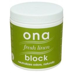 ONA Block Fresh Linen 175gr-Gels & Blocs- growstore.fr