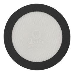 Tapis en silicone - rond - 12.7cm - pour presse à rosin - QNUBU