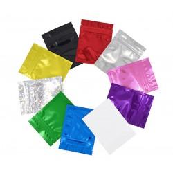 Sachets ZIP - Taille 3 - 8.5x13cm - Différents coloris disponibles - effet Gloss - 100/1000/10000