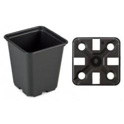 Pot carré 11x11x12cm