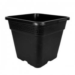 Pot carré Vega 2L Noir 14x14x14.5cm