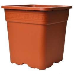 Pot carré Vega Terracotta 30L 36.5x36.5x36cm