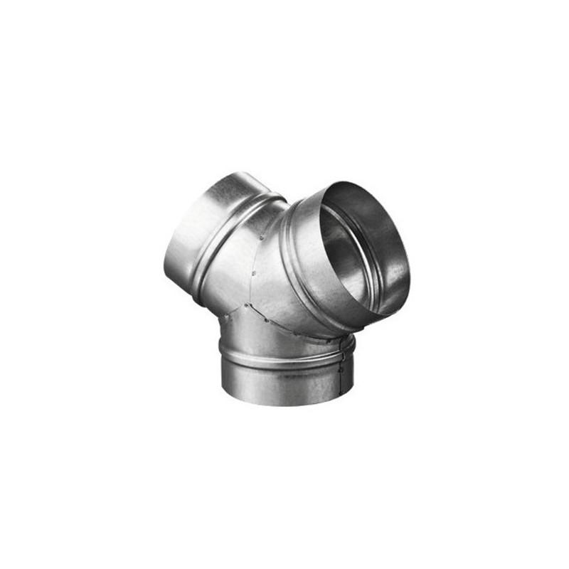 Raccord Y métal 100mm-Accessoires Gaine- growstore.fr