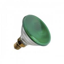 Ampoule Sylvania Verte 80W E27
