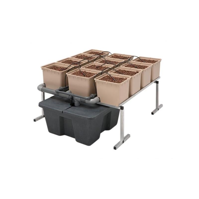 GHE Dutch Pot Hydro 1m²-Systèmes Hydroponiques- growstore.fr