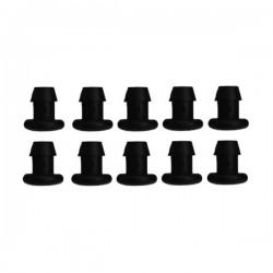 10 Bouchons 4/6mm
