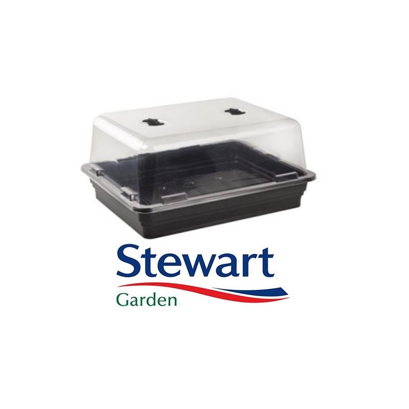 Grande Serre chauffante Stewart 52x42x24cm-Mini-Serres de propagation- growstore.fr