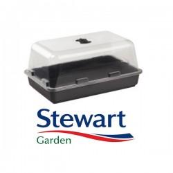 Mini-Serre chauffante Stewart 38x24x18cm-Mini-Serres de propagation- growstore.fr