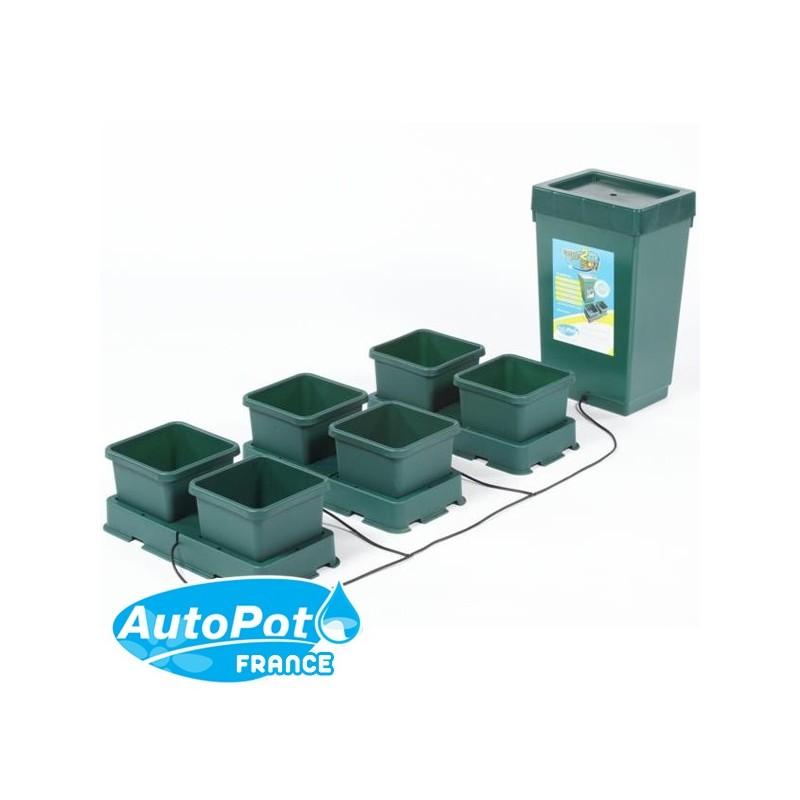 AutoPot Easy2Grow Kit 6 Pots 8,5 L-Systèmes Hydroponiques- growstore.fr