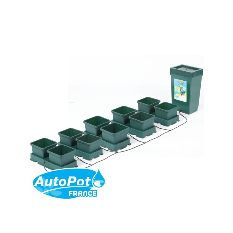 AutoPot Easy2Grow Kit 10 Pots 8,5 L-Systèmes Hydroponiques- growstore.fr